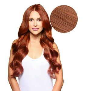 Bellami bellissima vibrant red hair extensions